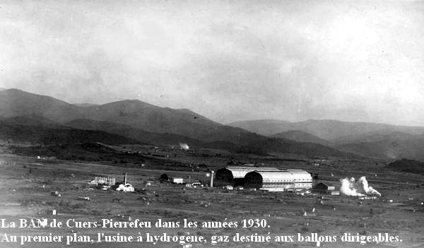 BAN Cuers dans les annees 1930