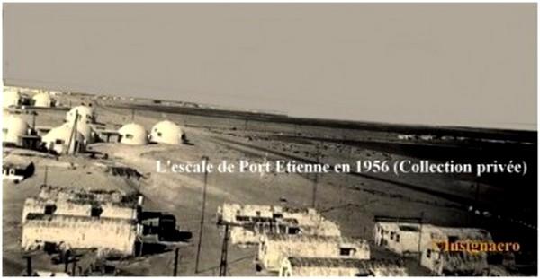 E.H Port Etienne en 1956