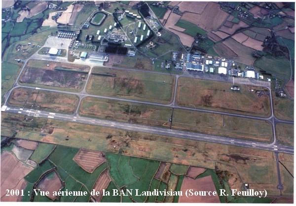 Landivisiau vue aerienne en 2001