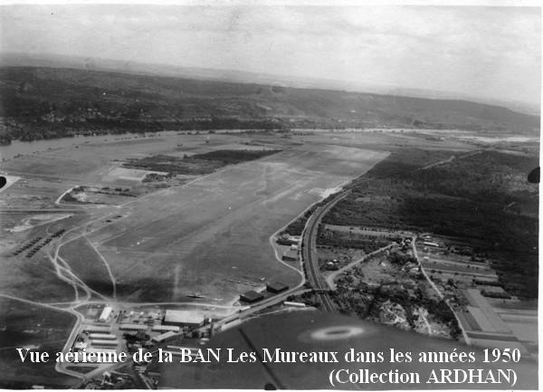 Vue aerienne de la BAN Les Mureaux 1