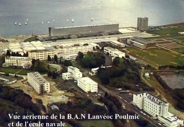 Vue de la BAN Lanveoc 1