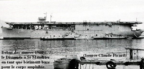 1960 Le dixmude batiment base a St Mandrier