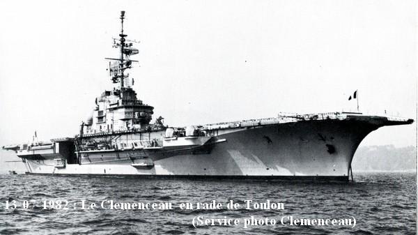 Le P.A Clemenceau en 1982