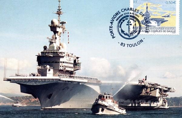 Premiere arrivee du CDG a Toulon en juin 2001