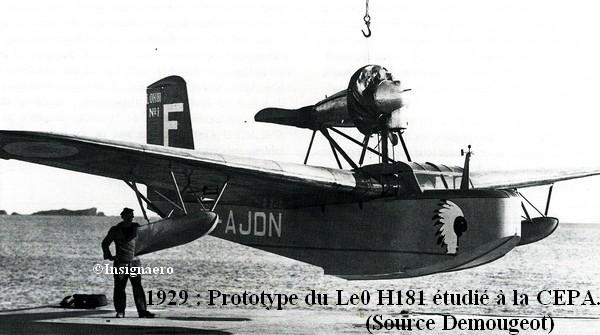1929. Proto du LeO H181 a la CEPA