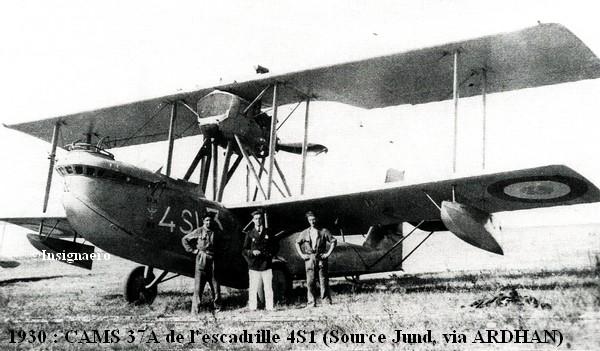 1930. CAMS 37A de l escadrille 4S1