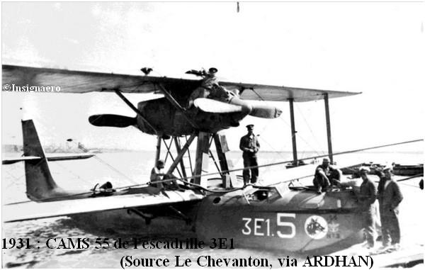 1931  CAMS 55 de l escadrille 3E1