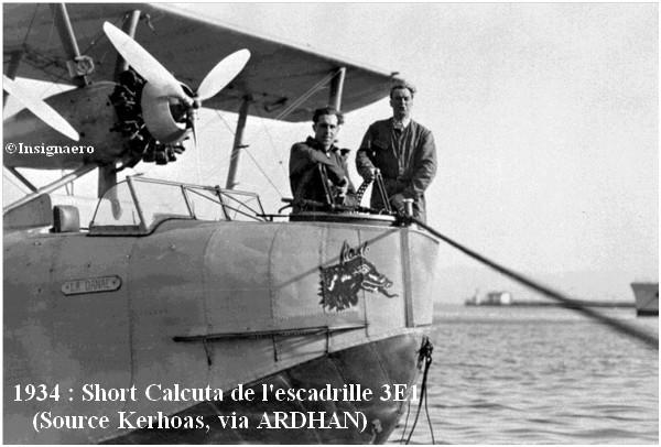 1934  Short Calcuta de l escadrille 3E1