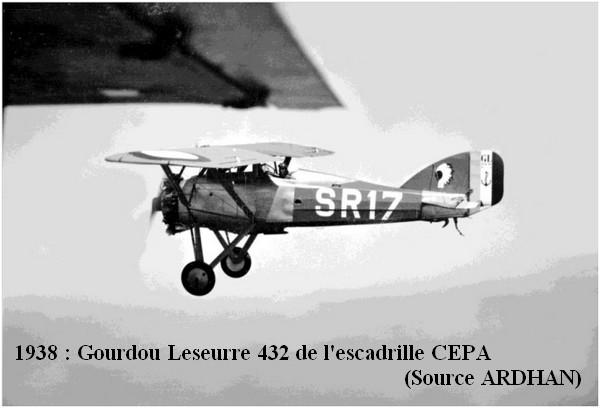 1938. Gourdou leseurre 432 de la CEPA