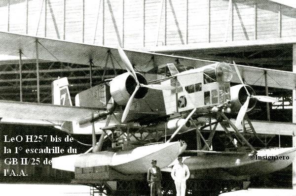 1938. LeO H257 bis de la 1   escadrille du CB II.25