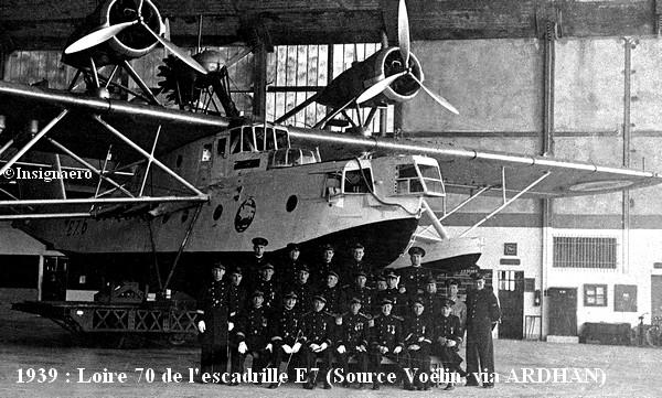 1939. Loire 70 de l escadrille E7