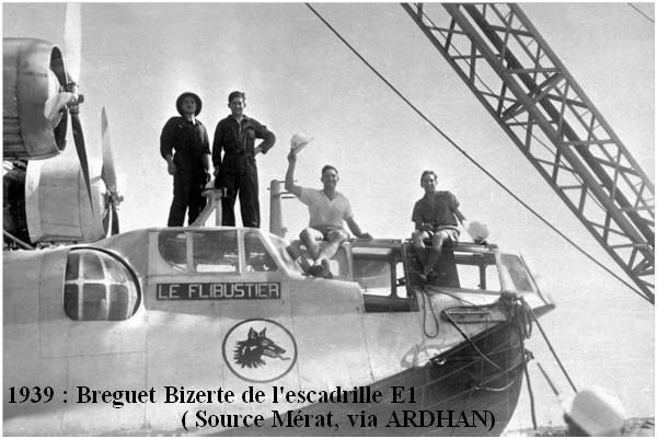 1939 Breguet Bizerte de l escadrille E1