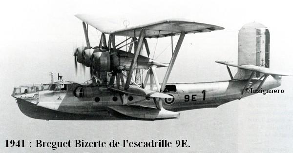 1941. Breguet Bizerte de l escadrille 9E