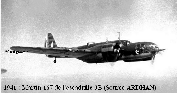 1941 Martin 167 de l escadrille 3B