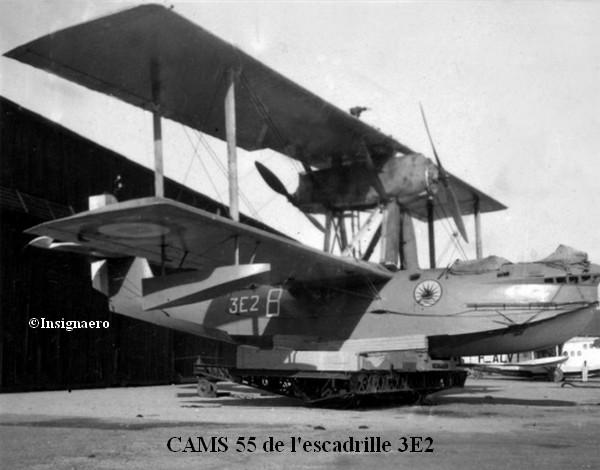CAMS 55 de l escadrille 3E2