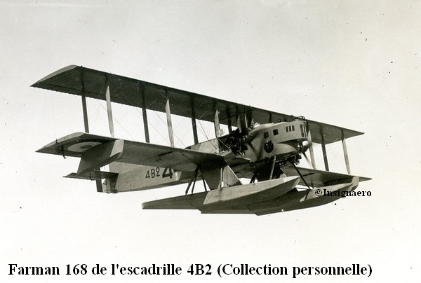 Farman Goliath F 168 de l escadrille 4B2