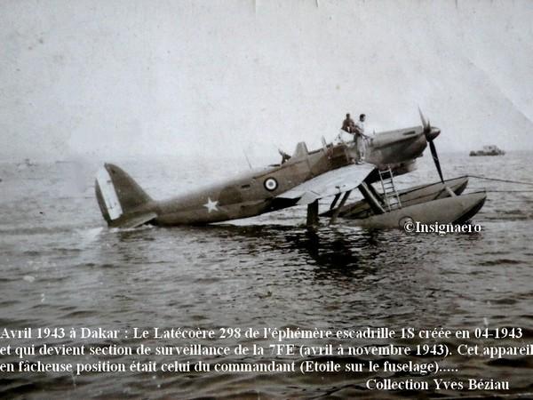 Latecoere 298 de la section de surveillance de la 7FE en 1943. Bis