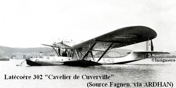Latecoere 302 Cavelier de Cuverville de la E4