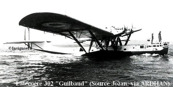 Latecoere 302 Guilbaud de la E4