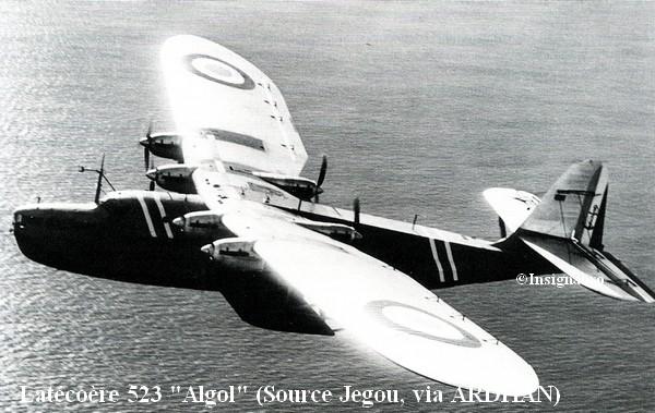 Latecoere 523 Algol de l escadrille E6