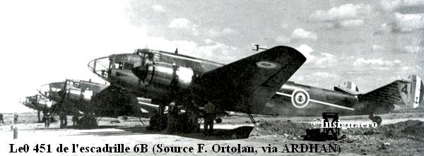 Liore et Olivier 451 de l escadrille 6B