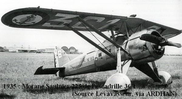 Morane Saulnier 225 de l escadrille 3C1