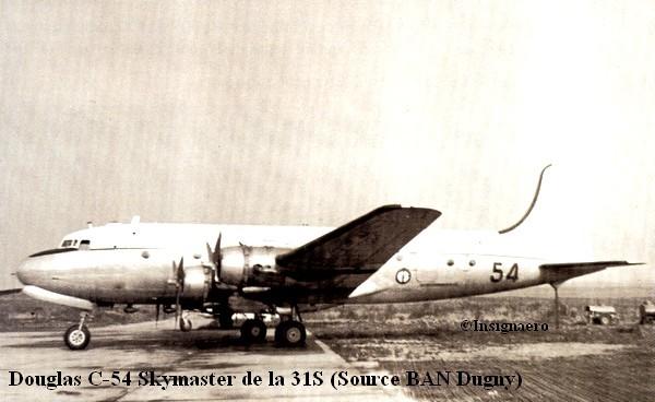 Douglas C.54 de la 31S