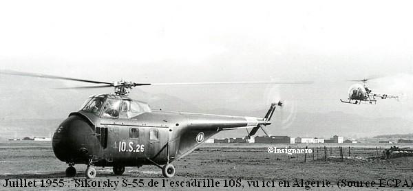Siko S.55 de la 10S en Algerie