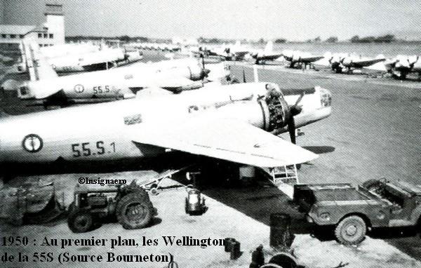 1950 les Wellington de la 55S