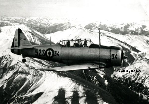 1953 Maroc SNJ escadrille 52S Khouribga