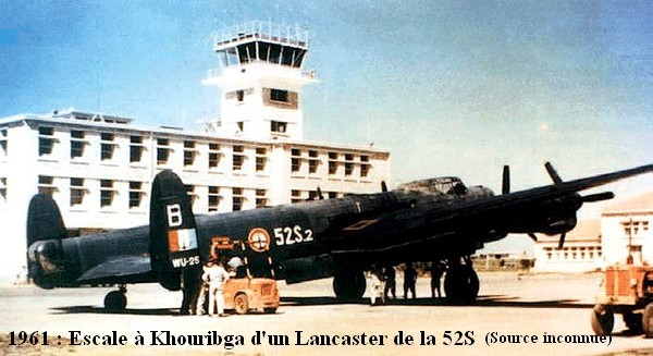 1961 escale a Khouribga d un Lanc de la 52S