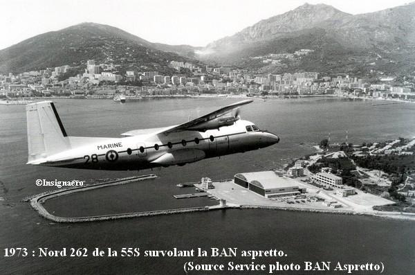 1973. Nord 262 de la 55S a Aspretto
