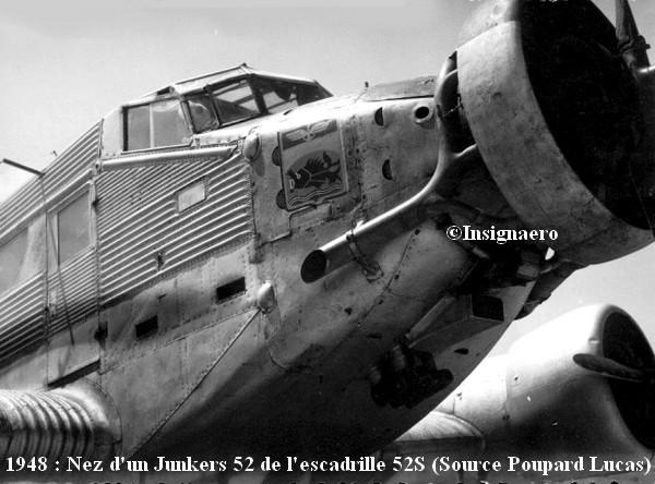 Nez d un JU 52 de l escadrille 52S EPV
