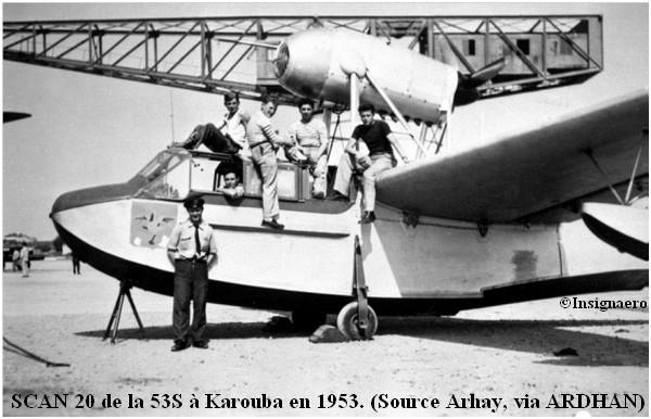 SCAN 20 de la 53S a Karouba en 1953