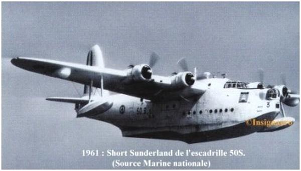 Short Sunderland de la 50S