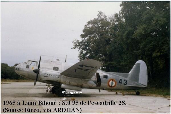 1965 a Lann Bihoue. S.O 95 de l escadrille 2S