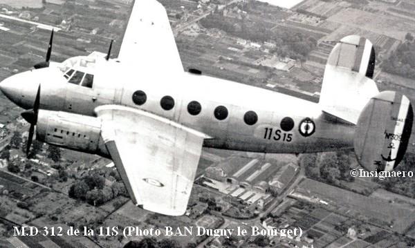 Dassault MD 312 Flamant de la 11S