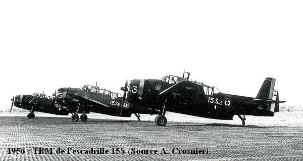 Escadrille 15S et ses TBM