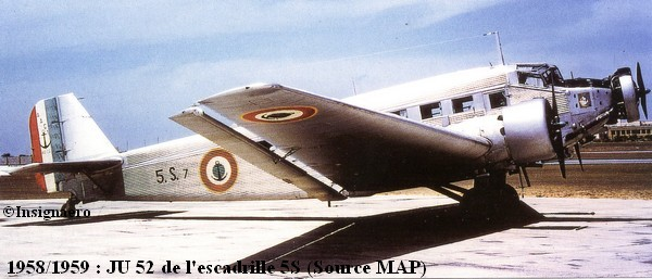JU 52 de l escadrille 5S de Karouba