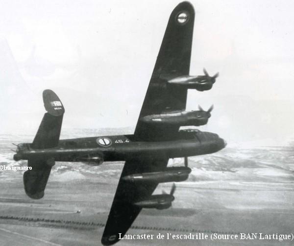 Lancaster de la 4S de Lartigue