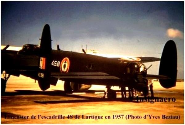 Lancaster de la 4S de Lartigue photo Y.B
