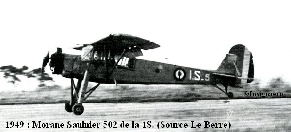 M.S 502 de la 1S en 1949