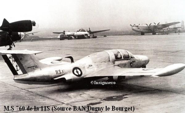 Morane Saulnier 760 de la 11S