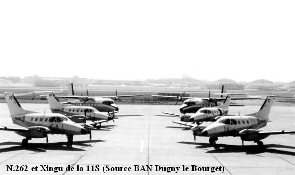 Xingu et N.262 de la 11S