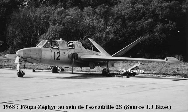 zephir de la 2S en 1968
