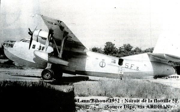 1952 Noroit de la 5F a Lann Bihoue