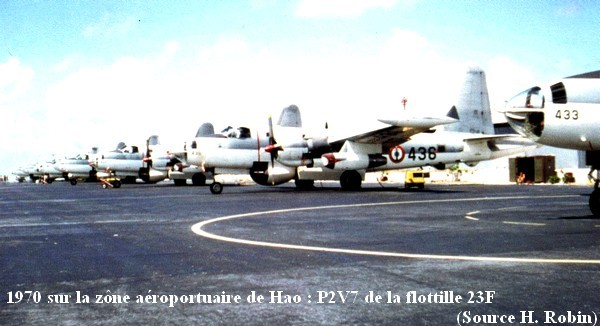 1970 sur le parking de Hao P2V7 de la 23F