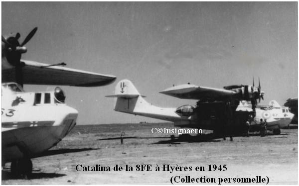 Catalina de la 8FE a Hyeres en 45