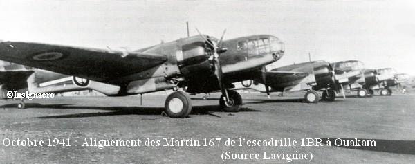 Cliche des Martin 167 de la 1BR en octobre 41