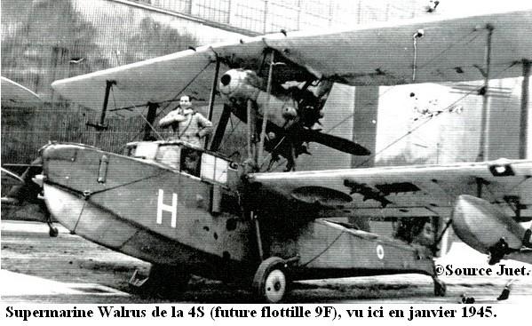 Nice janvier 1945  Walrus de la 4S1